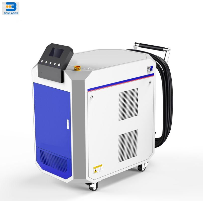 high efficiency 30W 50w 100w fiber laser cleaning machine for paint/oil/rust removal