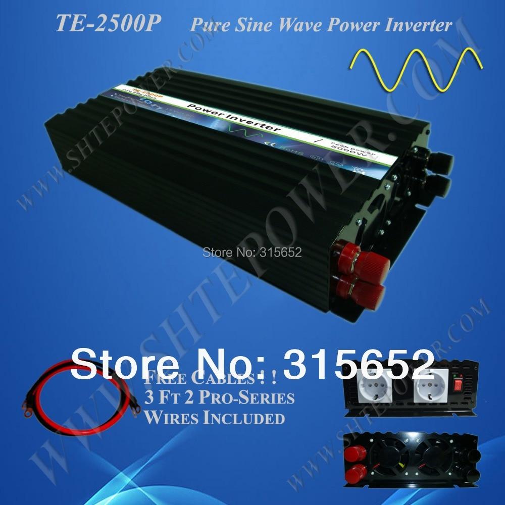 цена на 48 Volt 2500 Watt Pure Sine Wave Micro Solar Inverter 240V