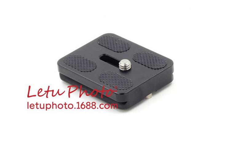 XILETU Universal Tripod Monopod Ball Head Quick Release Plate Head 50x38x10mm PU50 DSLR Accessories Q19816