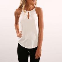 Fashion Womens Summer Vest Tops Sleeveless Shirt Blouse SI01