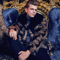 Free Shipping Fanzhuan New 2017 Fashion Male Men S Man Slim Warm Plush Coat Winter Thickening