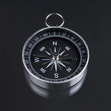 Brujula chaveiro дикий компас навигации легкий карманный алюминиевый классический туризм инструмент