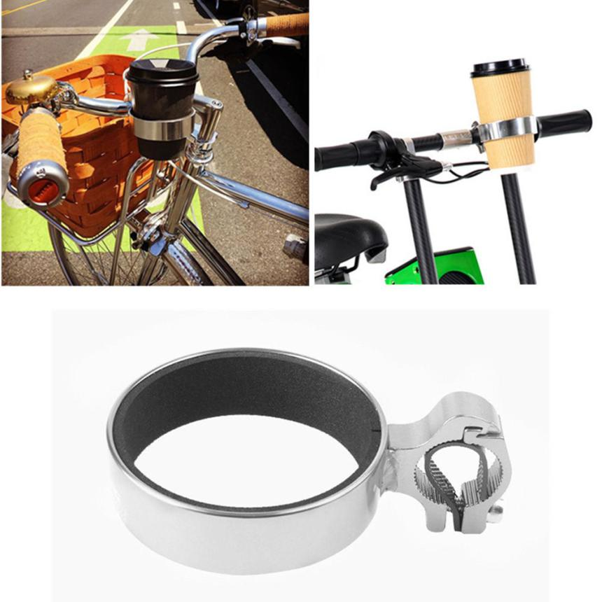 Bicycle Watter Bottle Cup Holder Strong Bike Coffee Drinks Cup Holder Handlebar Mount Cycling Non-slip for Sports Riding PJ4
