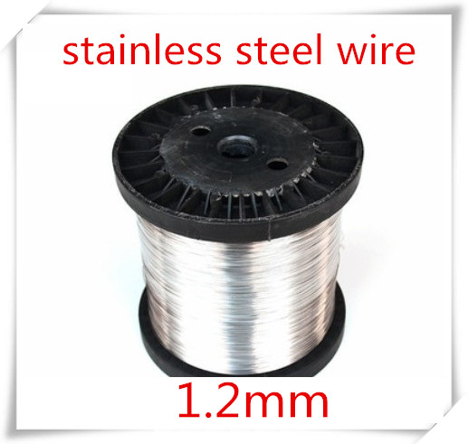 50meters 1.2mm Stainless Steel Wire Hard Condition,SUS304,,bright Steel Wire