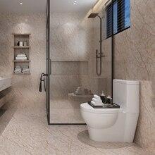 Утолщенные матовые мраморные ПВХ самоклеющиеся обои пол наклейки Ванная комната Кухня водонепроницаемые наклейки контактная бумага