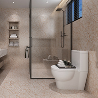 Thickened Frosted Marble Pvc Self adhesive Wallpaper Floor Stickers Bathroom Kitchen Waterproof Stickers Contact Paper
