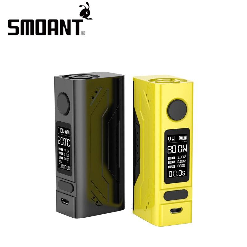 Smoant Battlestar Mini TC box mod 80w vape mods 18650 e cigarette mod box 510 Thread Electronic Cigarette vaper mode