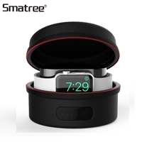 Smatree Charger Bags For iWatch Series 4/3/2/1 Charging Cover Case For Apple Watch Charger Portable Carrying Case