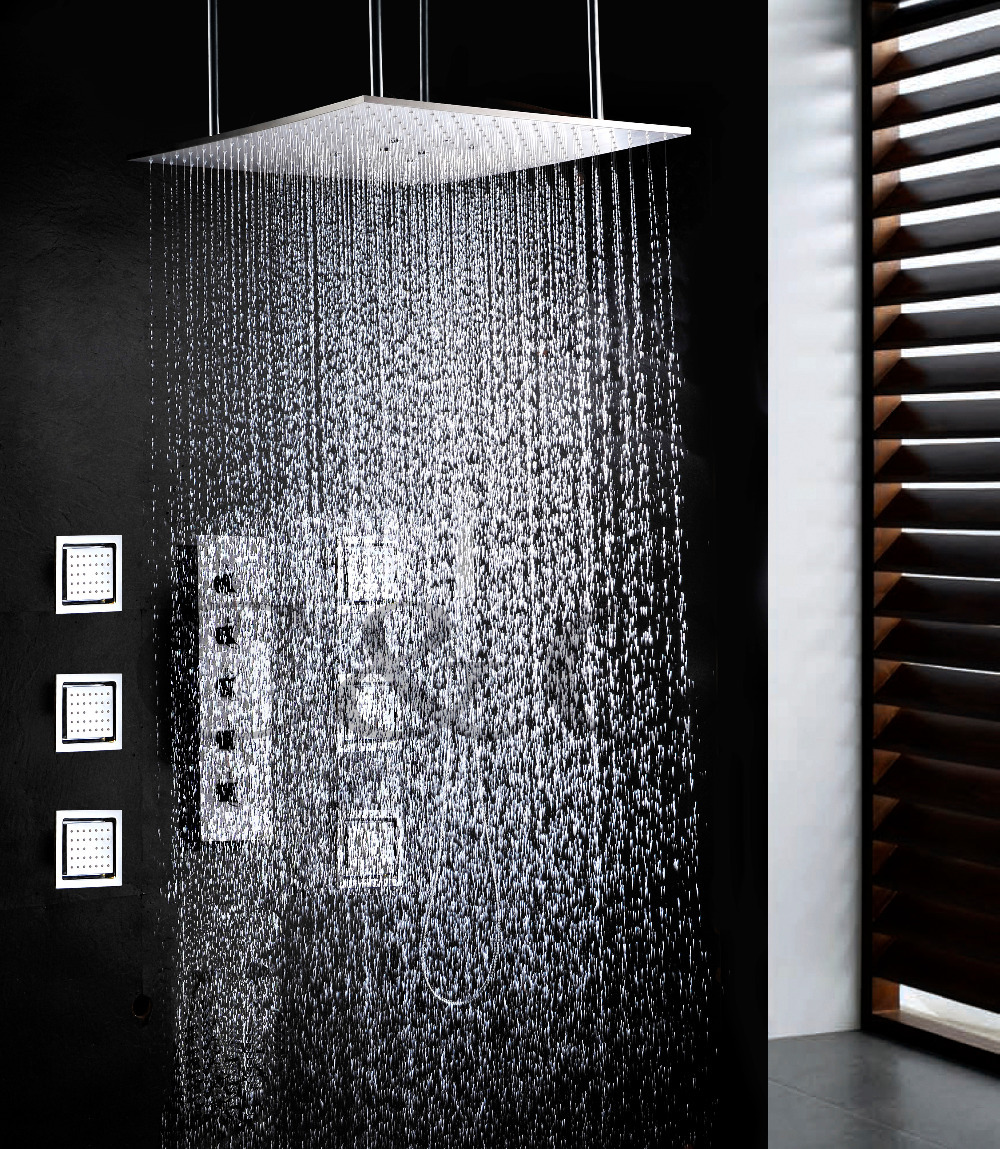 Swash And Rainfall Bath Bathroom Set 20 Inch Two Functions Shower ...