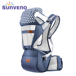 Sunveno Breathable Baby Carrier Ergoryukzak Front Facing Baby Carrier Comfortable Sling for Newborns