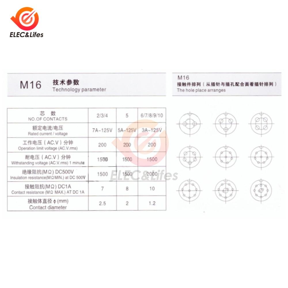 航空插头GX16规格书 (1)