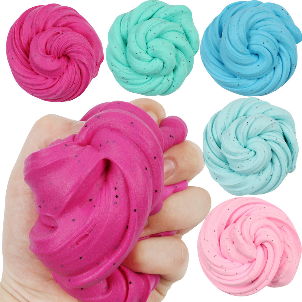 Squeeze Toys Fairy Floss Cloud Slime Reduced Pressure Mud Stress Relief Kids Clay Toy 5.27