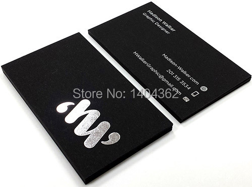 Us 71 32 15 Off Custom Black Gold Stamping Business Card Printing Business Card Printing Gold Foil Gift Card In Business Cards From Office School
