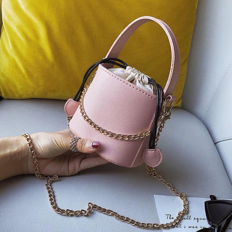 Bags For Women Leather Bucket Crossbody Bags Ladies Small Hand Bag Designer Leather Shoulder Messenger Bolsa Feminina