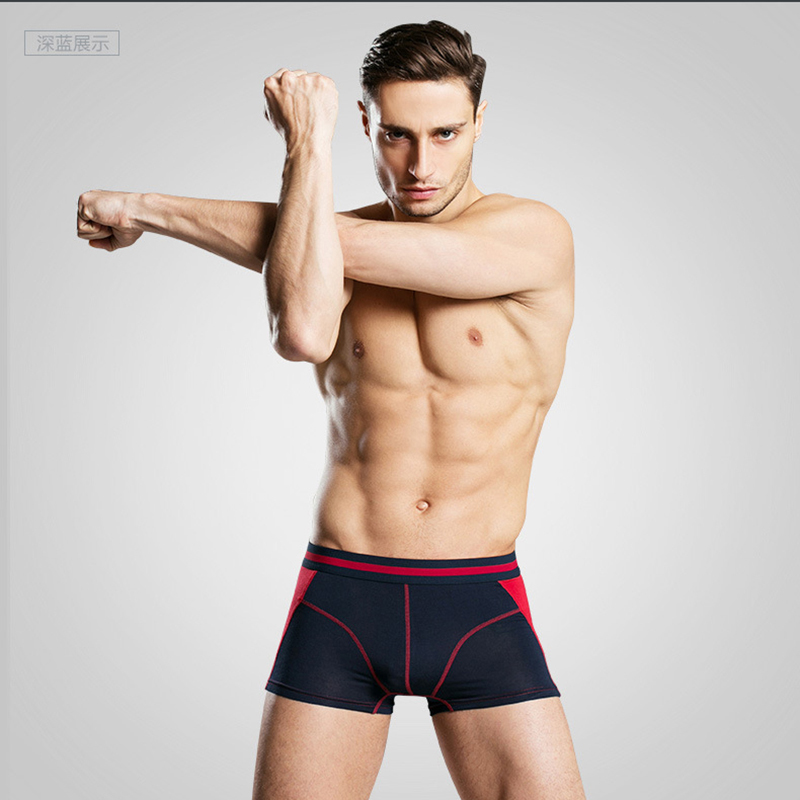 4Pcs/lot Comfortable Long Leg Short Leg Mens Boxers Shorts Male Underpants U-Convex Man Underwear Cueca Masculina M,L,XL,2XL,3XL