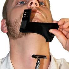 New Comb Beard Bro Shaping Tool Sex Man Gentleman Beard Trim Template Hair Cut Hair Molding Trim Template Beard Modellin