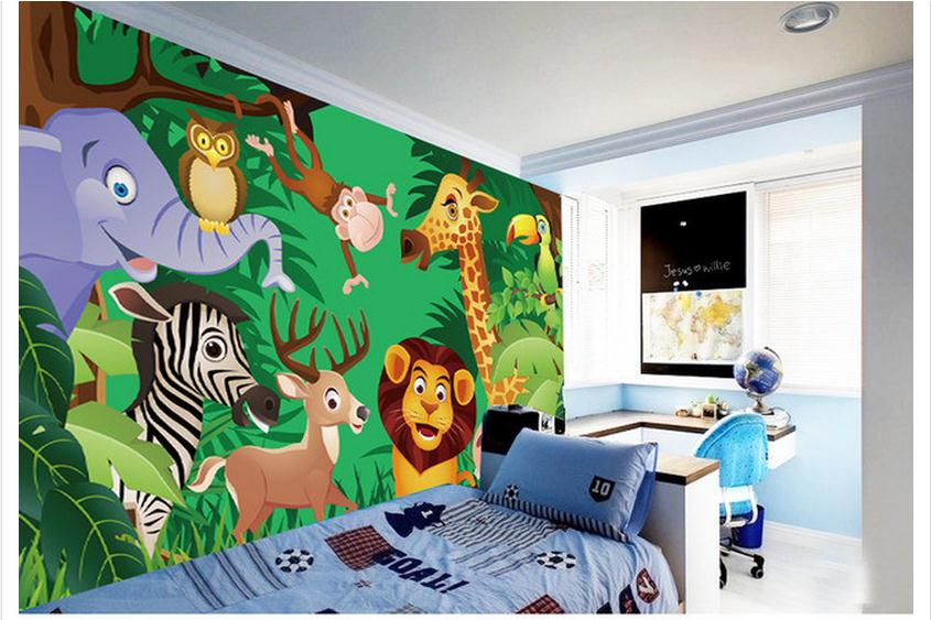 customized 3d Kids Cartoon Wallpaper Cartoon