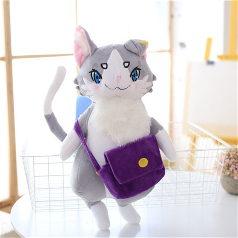 Anime Re: Life in a Different World from Zero Emilia Plush Toys Packu Neko Cat Genius Stuffed Dolls Gift 50cm