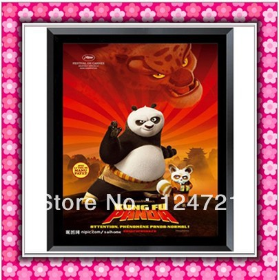 A3 Size Lighted Movie Poster Frames LED Box Advertising Light Sign