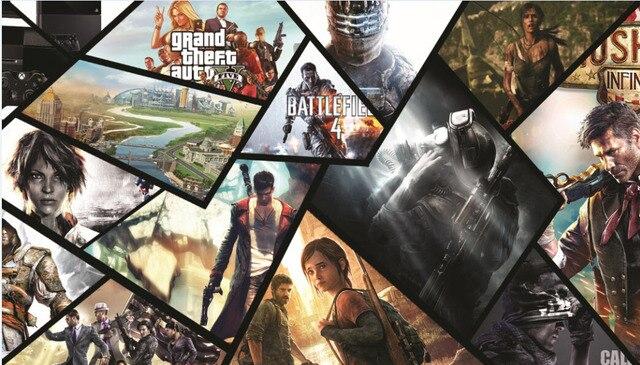 Juegos Populares Seda Poster 2013 Igry Ps4 Xboxone El 2013 Juegos