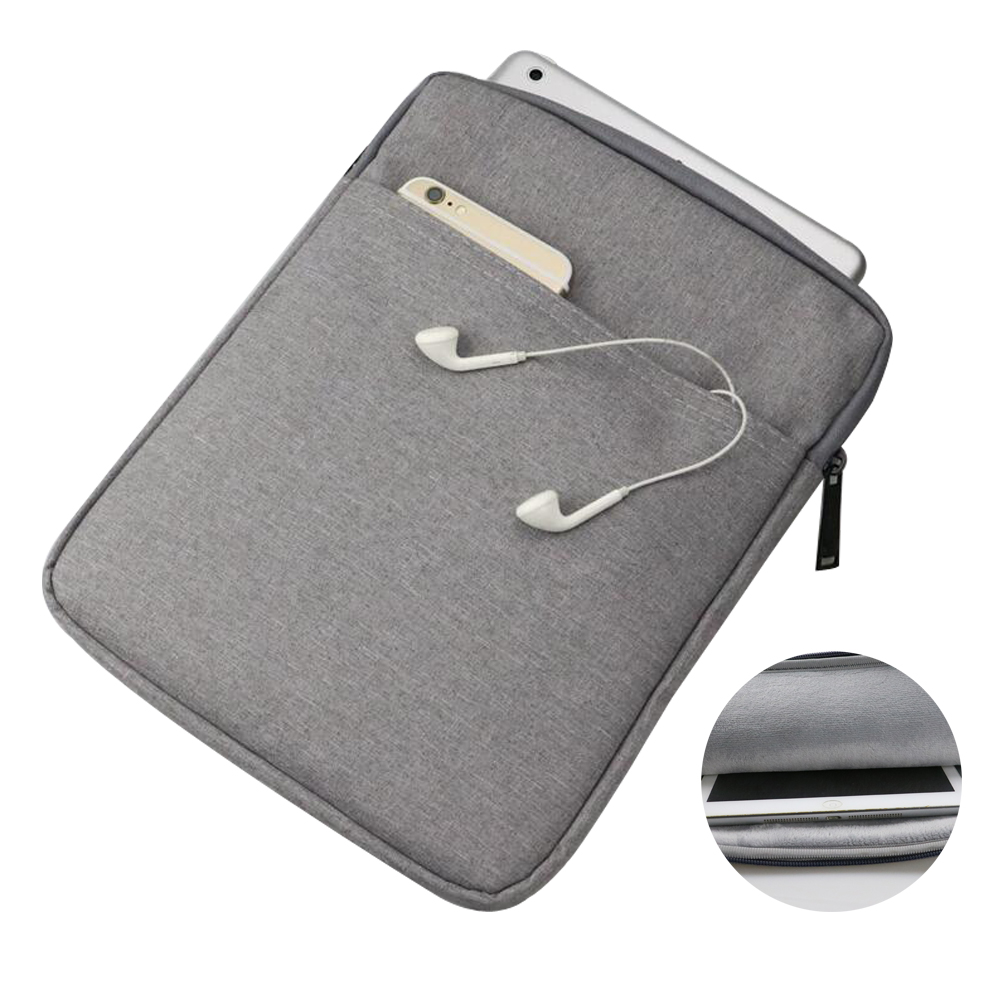 Waterproof Sleeve Pouch Bag For Samsung Galaxy Tab A 8.0 T350 T355 Zipper Shockproof Case For Samsung Tab S2 8.0 T715