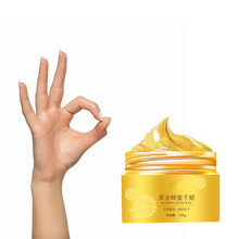 100g Gold Collagen Essence Whitening Moisturizing Hand Mask Moisturizing Anti Wrinkle Smoothing Hand Wax Mask Hand Care(China)
