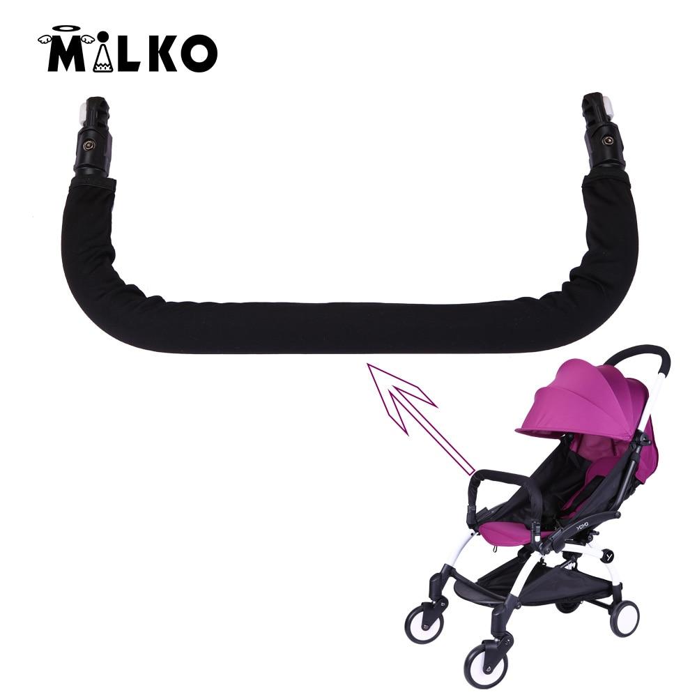Strollers Accessories Babyyoya Baby Stroller Accessories Armrest Bumper Bar Set Baby Carriages Feet Support Mat General Baby Carriers Armrest Set Pram Mother & Kids