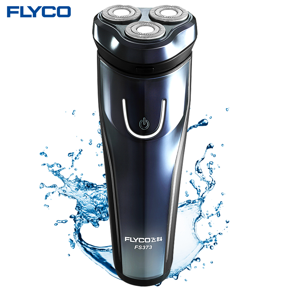 Flyco FS373 Men Electric Shaver Whole Body Washing Shaving Machine Rechargeable Pop-up Trimmer 3D Floating Head Wet and Dry Face my pop up body book