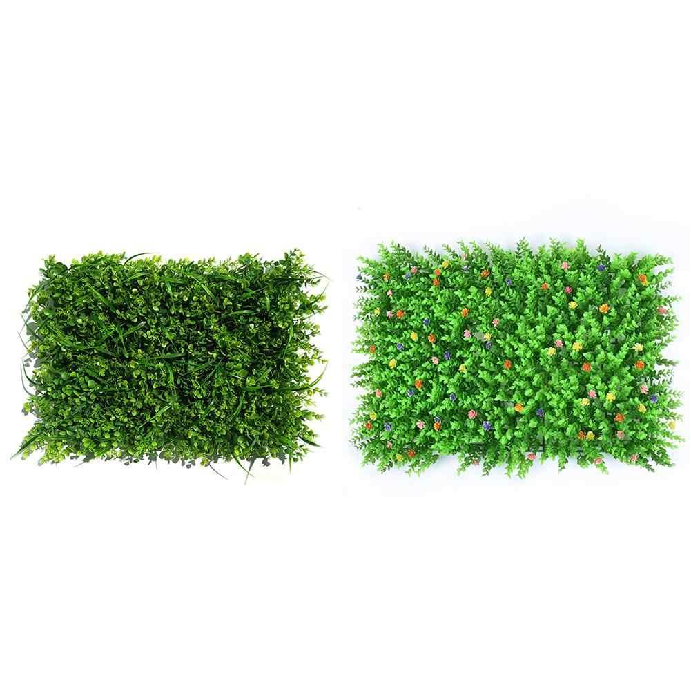 Размер 40 см * 60 см квадратный коврик Домашний садовый декор искусственная трава газон ковер газон открытый цветок стены искусственное пластиковое растение газон