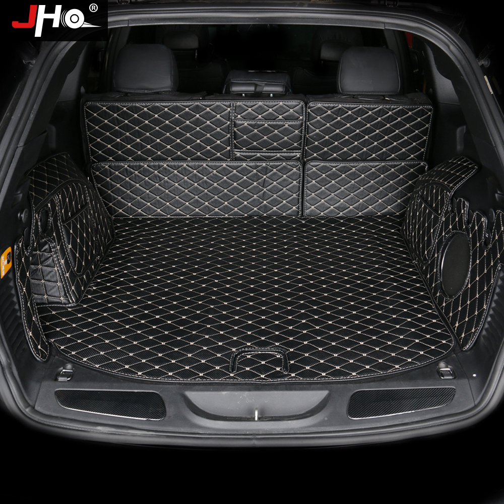 цена на JHO Anti-slip Rear Trunk Mat Cargo Area Protector For Jeep Grand Cherokee 2014 2015 2016 2017 Anti-dirty Cover Car Accessories