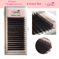 Individual Eyelashes Lashes False Mink Colored Cilios Posticos Fake Natural Eyelash Extension Color Eye Lash Brown Net Wimpern