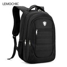 Lemochic New список Оксфорд softback повседневные деловые рюкзак на шнурке Hombre на молнии высокого качества путешествия ноутбук мужские сумки