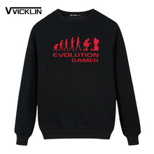 "Fantastic ""Evolution Of A Gamer"" geek sweatshirt"