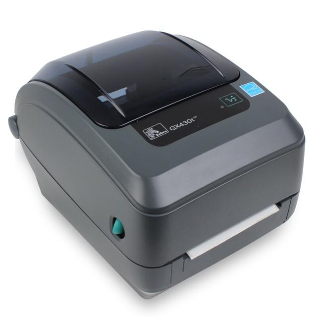Original Zebra GX430t Desktop Barcode Printer 305dpi