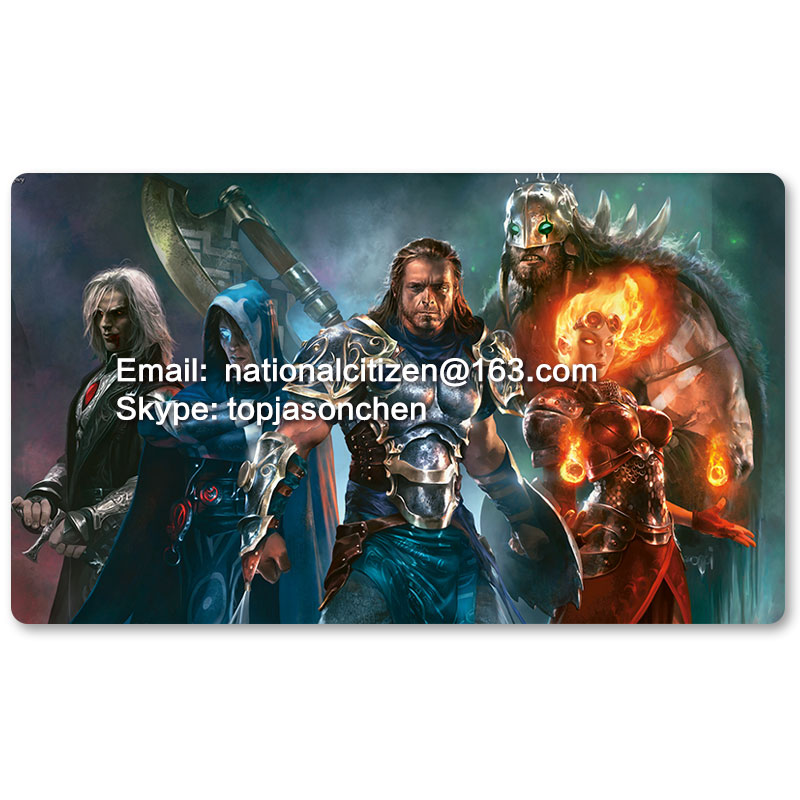 Many Playmat Choices - Magic 2013 - MTG Board Game Mat Table Mat for Magical Mouse Mat the Gathering image