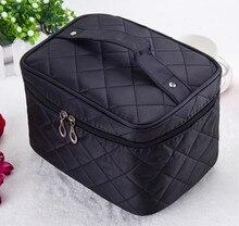 TEXU Fashion Multi Functional cosmetic bag women's large capacity storage handbag travel toiletry makeup bag