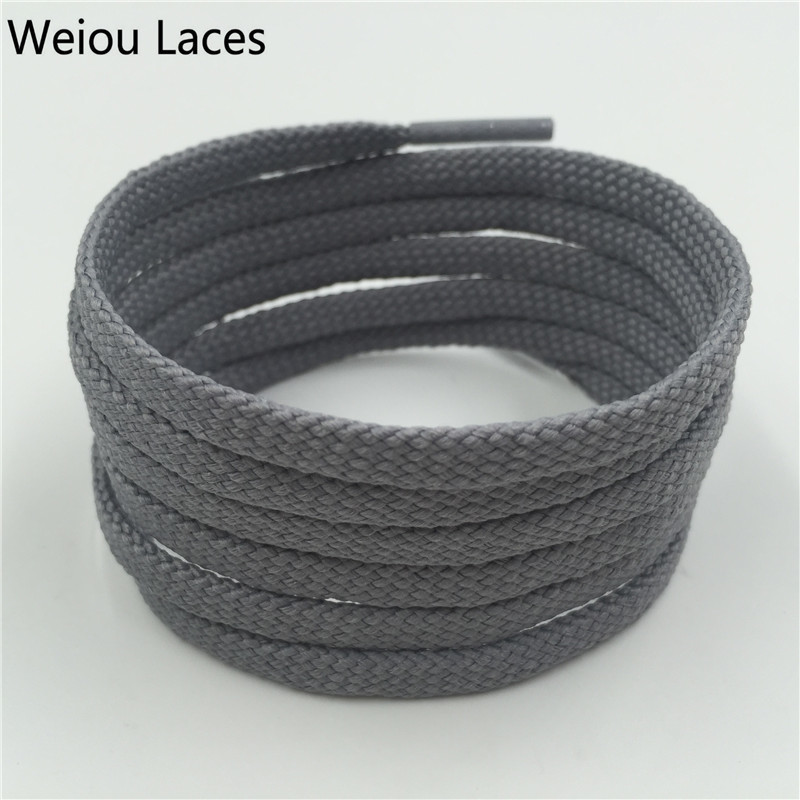 Weiou New Flat Tubular Shoelace Styles Athletic Sport Sneakers Bootlace Multi Color Polyester Shoestring For NMD Boots 350 750 Weiou New Flat Tubular Shoelace Styles Athletic Sport Sneakers Bootlace Multi Color Polyester Shoestring For NMD Boots 350 750