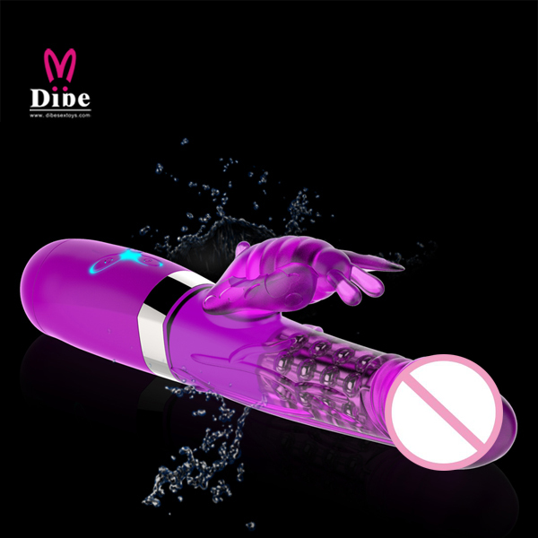 Dibe top quality g spot Rabbit dildo vibrator adult sex toys for woman,clitoris sex products vibrators for women,sexo toy shop high quality smart g spot vibrator and oral sex tough licking erotic toys magic wand dildo sex products adult sex toys for women