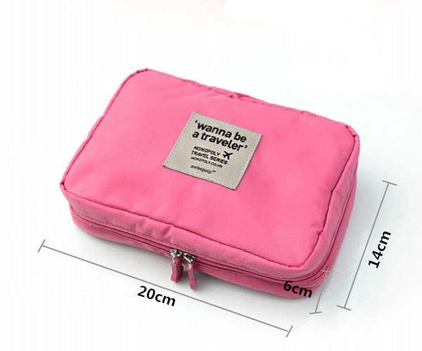 Online Shop New brand travel cosmetics bags women purse handbag ...