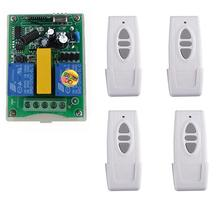 New AC220V 2CH RF Wireless Remote Control transmitter and re