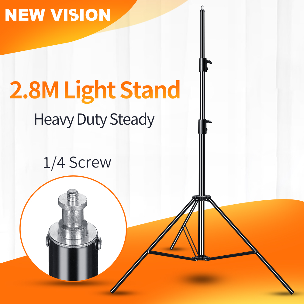 Godox 2.8M 110in 1/4 Screw Heavy Duty Light Stand Tripod with for Photo Studio Softbox Video Flash Umbrellas Reflector Lighting