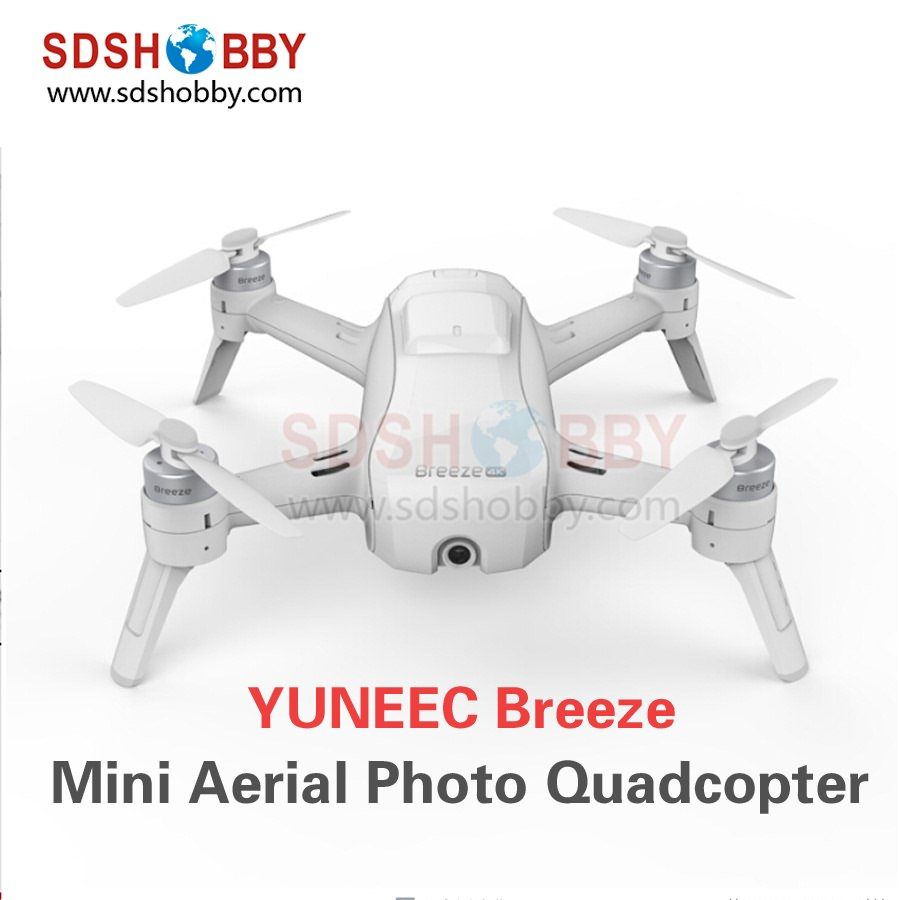 Yuneec Breeze Intelligent Aerial Photo Quadcopter Smart 4K HD Remote Control Selfie Mini Multicopter yuneec typhoon h480 hexacopter intelligent aerial photography drone 4k uav multicopter obstacle avoidance