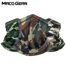 Multicam Camouflage Bandana Tactical Neck Gaiter Tube Face Shield Military Army Skiing Cycling Hunting Hiking Airsoft Scarf Mask aa shield camo tactical scarf outdoor military neckerchief forest hunting army kaffiyeh scarf light weight shemagh woodland