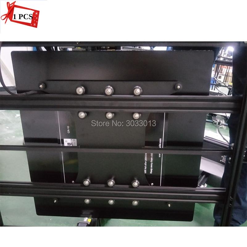 3D imprimante Partie Foyer Plat De Chariot avec poulie pour CR-10s 4S 3D imprimante 300*300*400/400 * 400*400mm taille D'impression envoyer par FDE/DHL