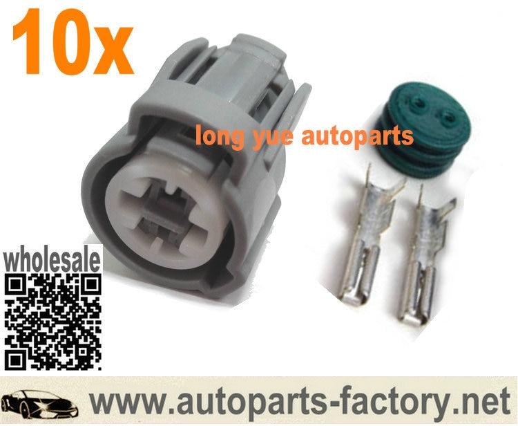 US $10 11 15% OFF|longyue 10kit VTEC Oil Pressure Switch, Knock Sensor,  Coolant Sensor Connector Case For Honda Acura-in Lamp Bases from Lights &