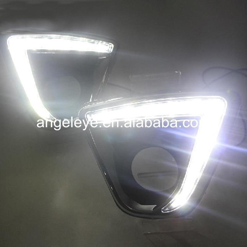 For Mazda CX-5 2012-2016 year LED DRL Daytime Running Light White LED mazda cx 5 киев