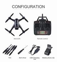 CG033 Дрон вертолет безщеточный 2,4 г FPV Wi Fi Gimbal HD Камера 1080 P gps высота Удержание Quadcopter Дрон VS X8PRO LH X28