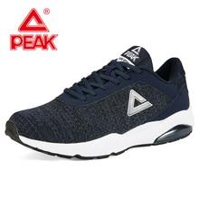 PEAK Men Classic Retro Air Cushion Sport Casual Shoes Non-slip wear-resistant rubber Walking Comfortable Durable Sneaker