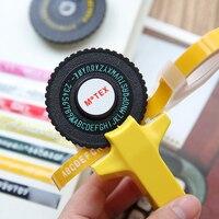 Motex DIY Label Maker Tape Writer Office Gift Label Adhesive Tagging Gun Scrapbooking Marker Embosser