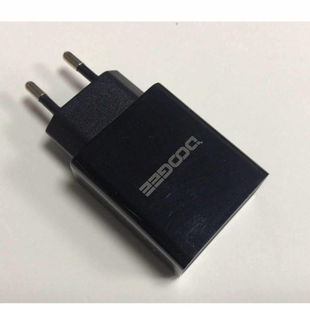 Nowy oryginalny Doogee BL12000 zasilacz sieciowy szybka ładowarka 3.0 ładowarka podróżna adapter wtyczki eu + kabel USB DC 5V 7V 9V 3A